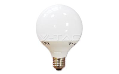 LED žárovka E27 koule G95 10 W teplá bílá