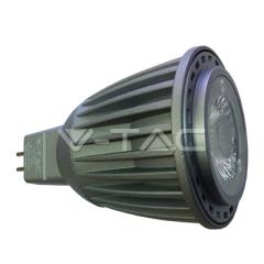 LED bodová žárovka GU5.3 7W studená bílá