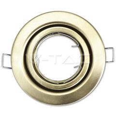 Rámeček na GU10/GU5.3 kruhový pohyblivý satin nikel