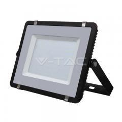 LED reflektor SLIM 300 W denní bílá čierny s 5-letou zárukou
