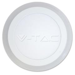 LED přisazený kruhový panel TWIN LED 12+3 W denní bílá