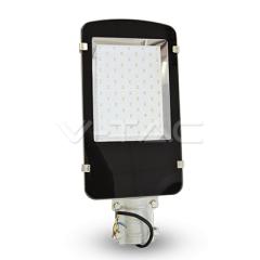 LED pouliční svítidlo 50 W SLIM studená bílá A++