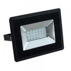 LED reflektor 20 W E-series studená bílá černý