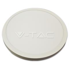 LED panel přisazený kruhový 36 W studená bílá, bílé tělo