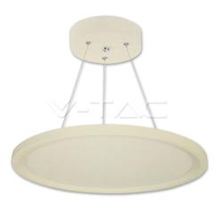 Závěsný LED panel kruhový 30 W denní bílá prúměr 40 cm