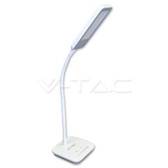 LED stolní lampa 7 W šedá denní bílá stmívatelná