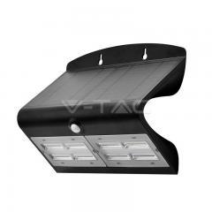 LED solární svítidlo 6,8 W denní bílá černé