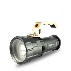 Nabíjecí ruční svítilna 10 W kovová