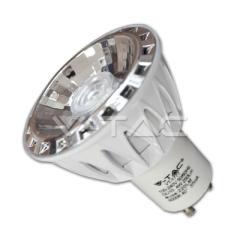 Bodová LED žárovka GU10 4 W teplá bílá stmívatelná