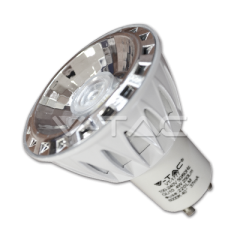 Bodová LED žárovka GU10 4 W studená bílá stmívatelná