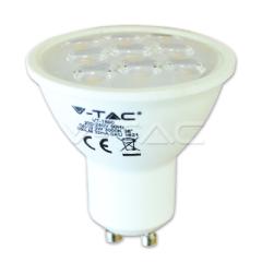 Bodová LED žárovka GU10 3W studená bílá 38° ozdobní difuzor