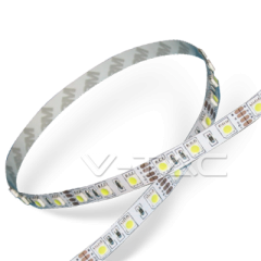 LED pásek 5050, 60 LED/m, studený bílý, krytí IP20