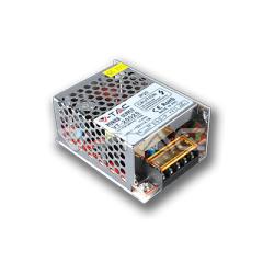 Kovový napájecí adaptér pro LED pásky 25 W, krytí IP20