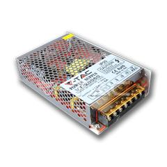 Kovový napájecí adaptér pro LED pásky 60 W krytí IP20