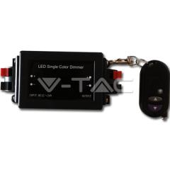 Stmívač pro LED pásky s dálkovým ovládaním 8 A