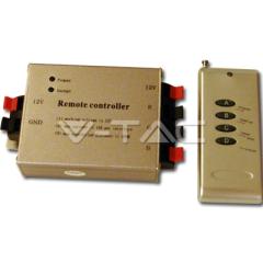 Rádiový ovládač na LED pásky 4 tlačidla