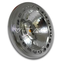 Bodová LED žárovka GX53 AR111 15 W denní bílá 20°12 V