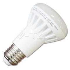 LED žárovka E27 reflektor R63 8W denní bílá