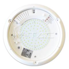 LED stropní svítidlo se senzorem 16 W denní bílá IP65 bílé